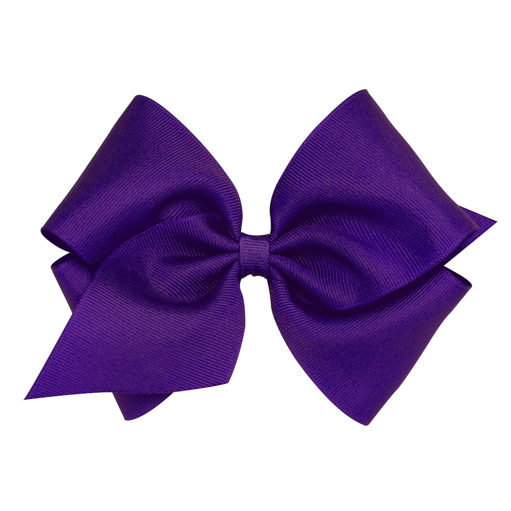 Purple Mini King Bow