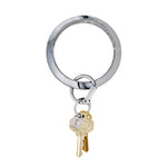 Tuxedo Marble Silicone BigO Key Ring at It's So Wright