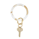 Gold Rush Marble Silicone BigO Key Ring at It's So Wright