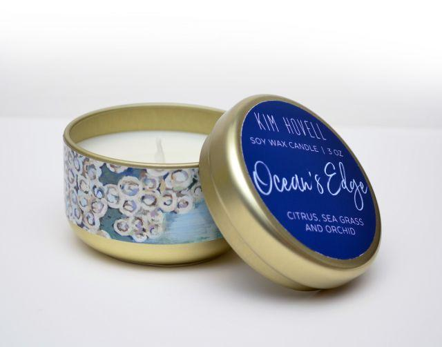 Ocean's Edge 3oz Candle