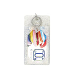 Quicksilver Confetti Silicone Ossential ID Case at It's So Wright