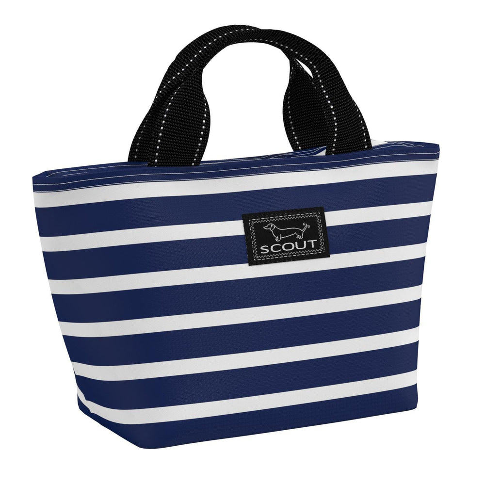 Scout Nooner Lunch Box Nantucket Navy