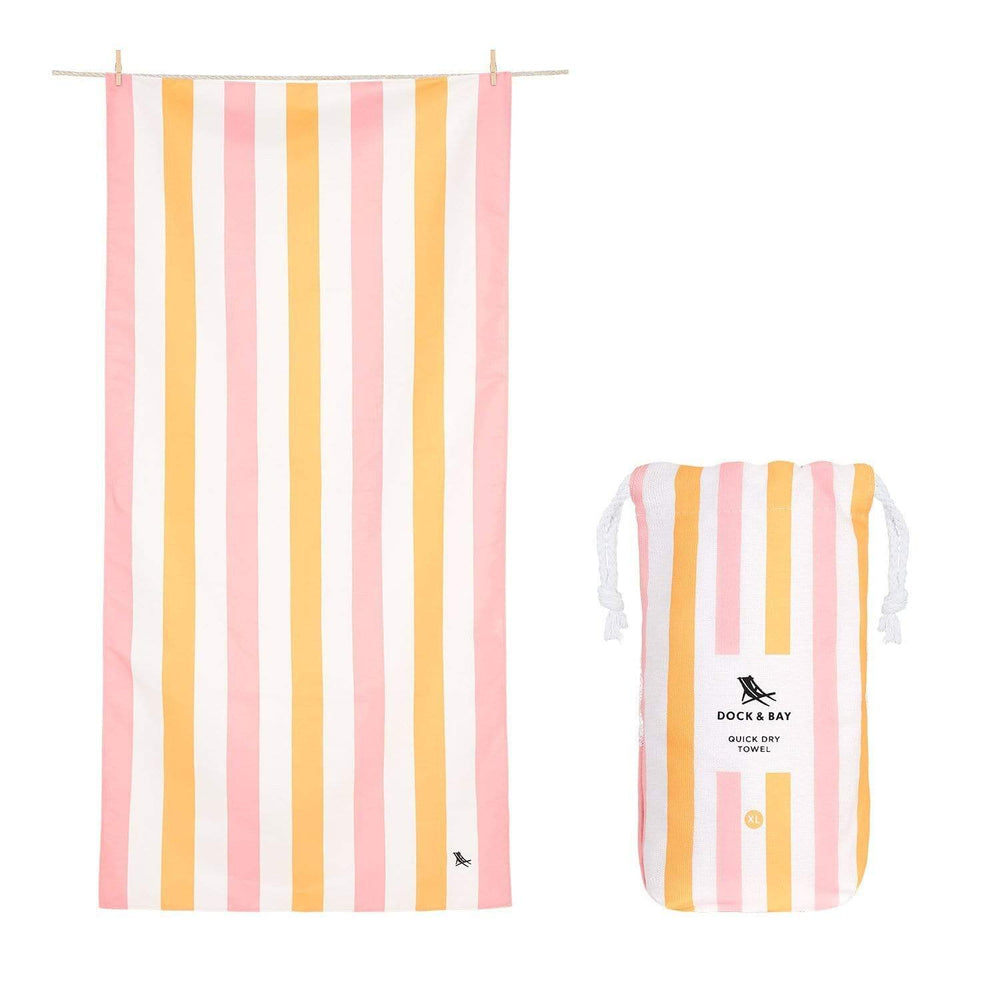 Peach Sorbet Beach Towel at It's So Wright