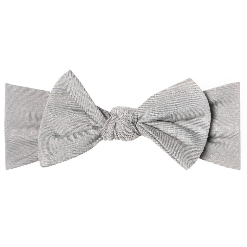 Stone Knit Headband Bow