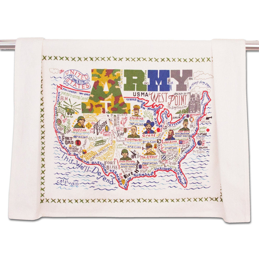Army Dish Towel at It's So Wright