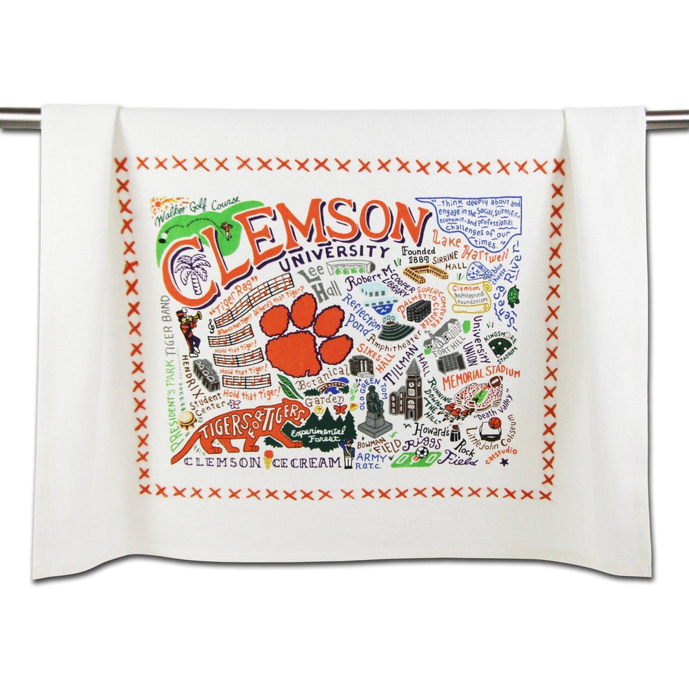 Clemson Dish Towel at It's So Wright