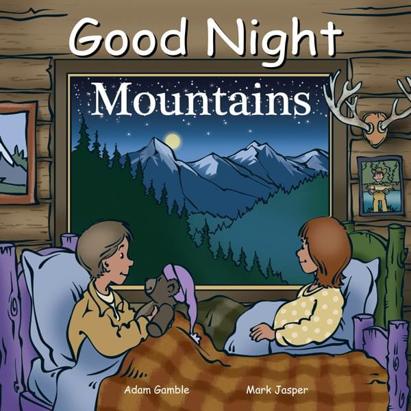 Goodnight Mountains Book at It's So Wright