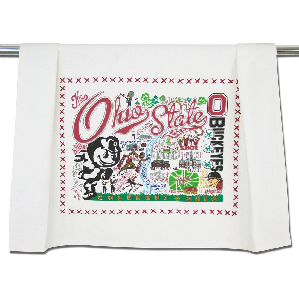 Ohio State Dish Towel at It's So Wright
