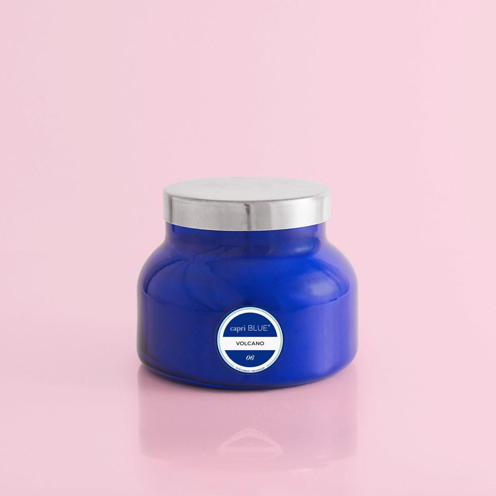 Volcano Candle Signature Blue Jar