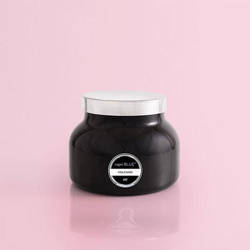 Volcano Candle Black Jar