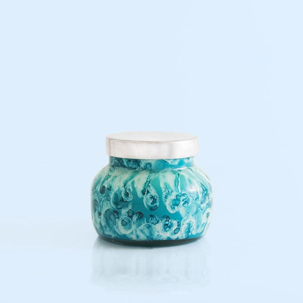 Volcano Candle Watercolor Jar at It's So Wright