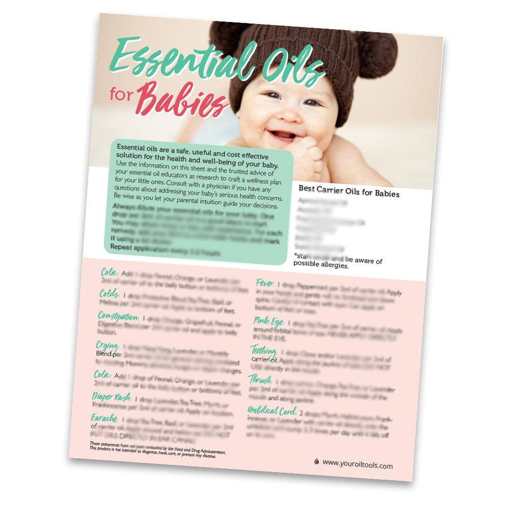 Babies Recipe Sheets (Pack of 10)