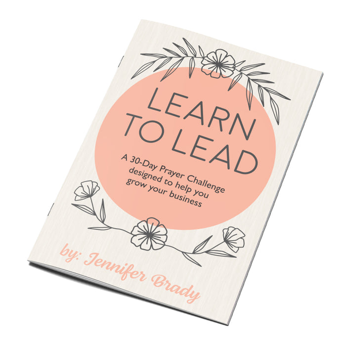 Learn To Lead Book