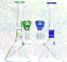 Load image into Gallery viewer, Inline Percolator Quality Glass Bongs With Joint 14.4mm & Bowl