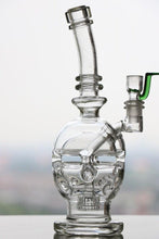 Load image into Gallery viewer, Quality Quartz Faberge Glass Honeycomb Glass Bong With Oil Rigs & Percolator
