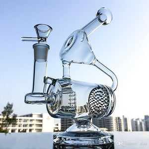 As the name suggests, this Unique Glass Bong Clear Water Pipe is the most unique bong for you to have!
