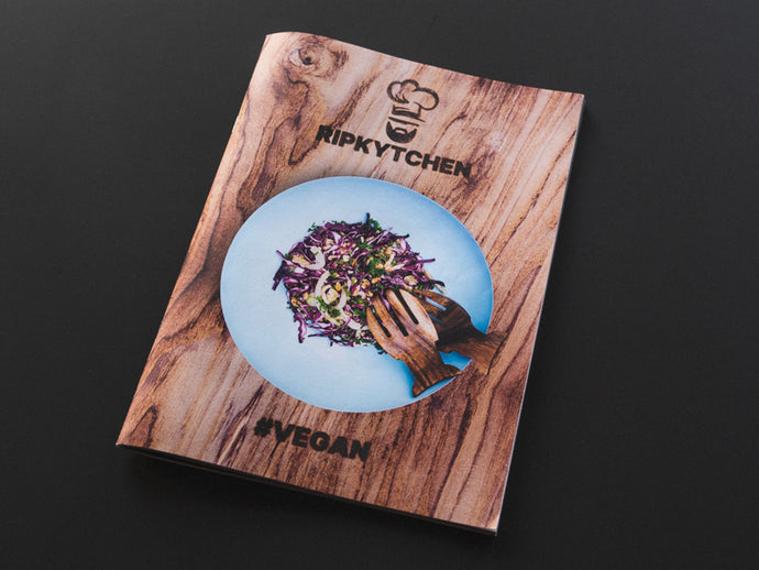 RIPKYTCHEN #VEGAN Print Magazine // German