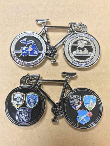 Team Motor City Challenge Coin 2021