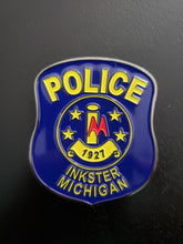 Load image into Gallery viewer, Inkster Police Memorial Challenge Coin