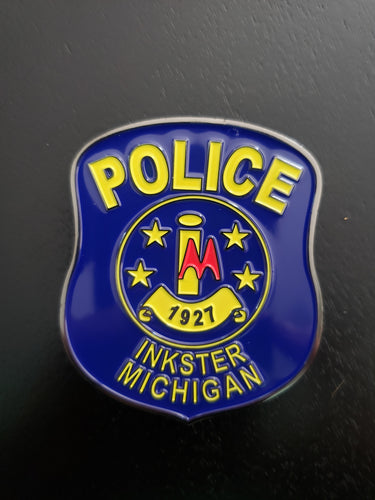 Inkster Police Memorial Challenge Coin