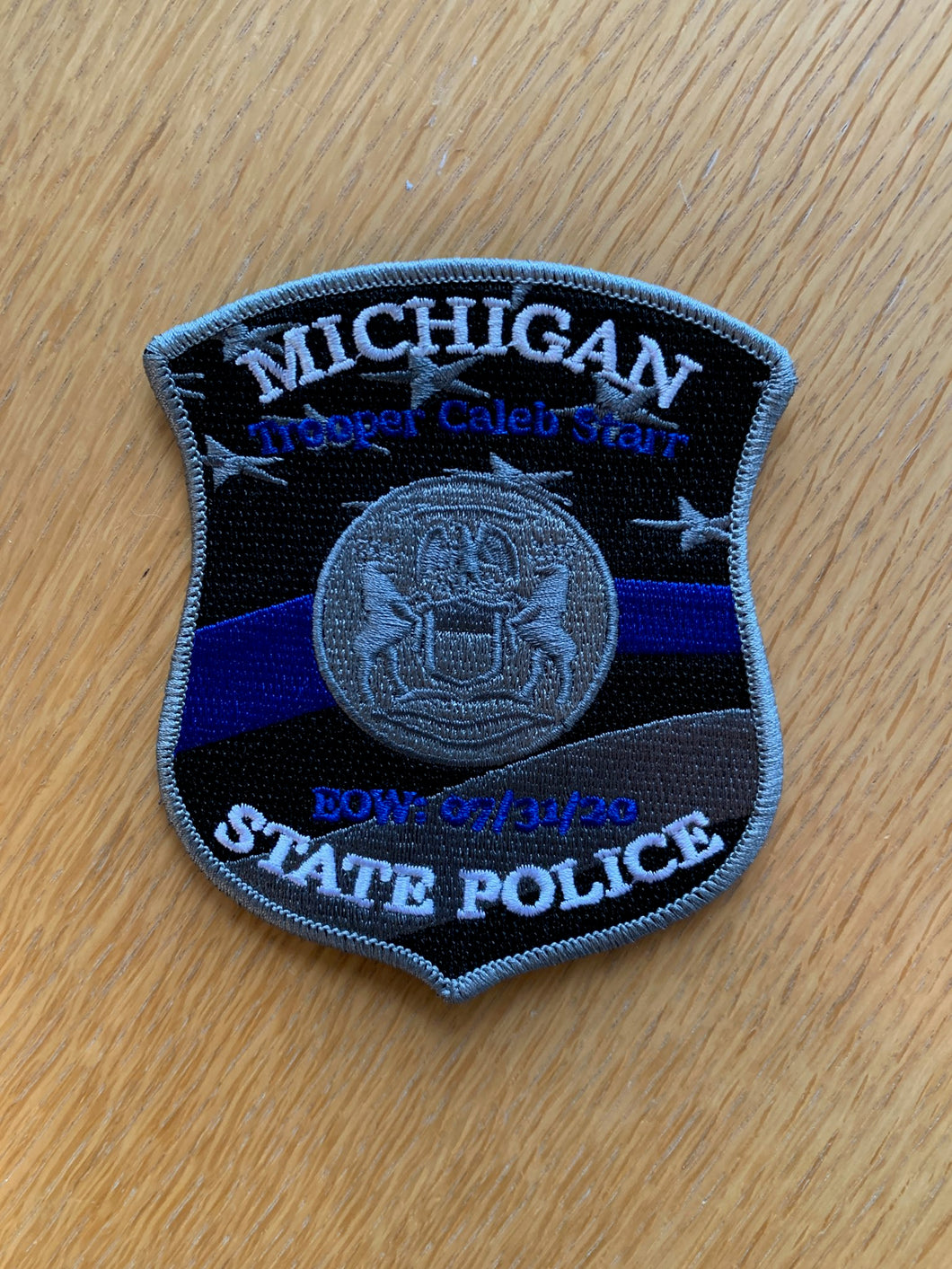 Trooper Starr Memorial Patch