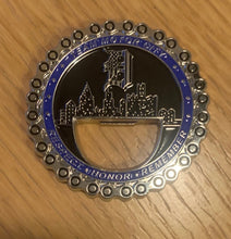 Load image into Gallery viewer, Team Motor City Police Unity Tour Challenge Coin