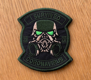 Corona Virus Patch