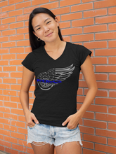 Load image into Gallery viewer, Red Wings V Neck
