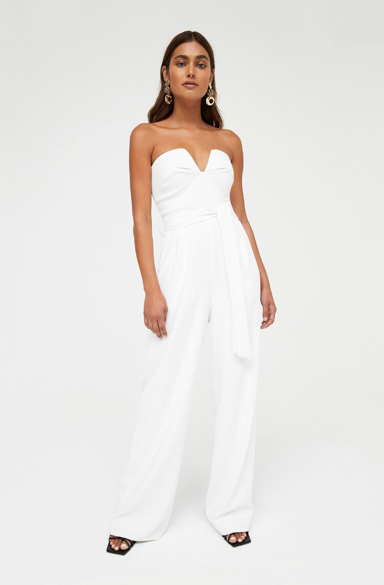 MINX WHITE JUMPSUIT