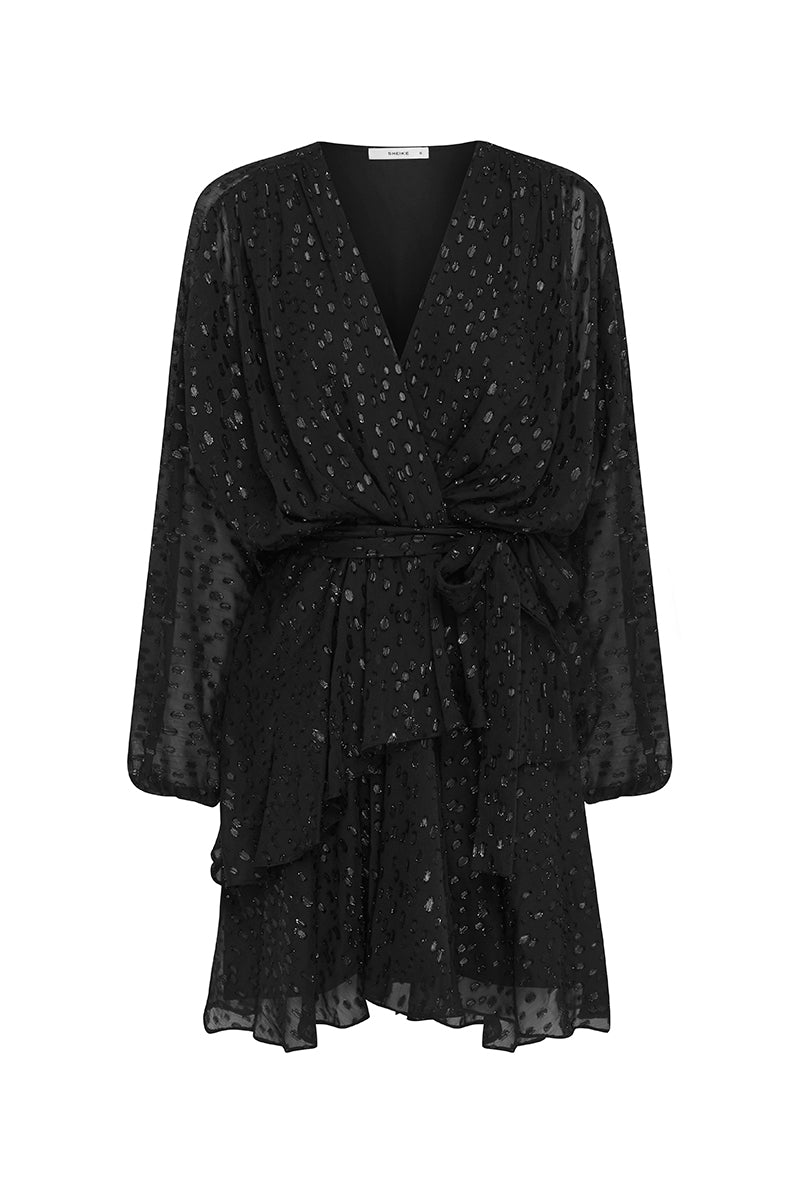 MIDNIGHT SHIMMER DRESS