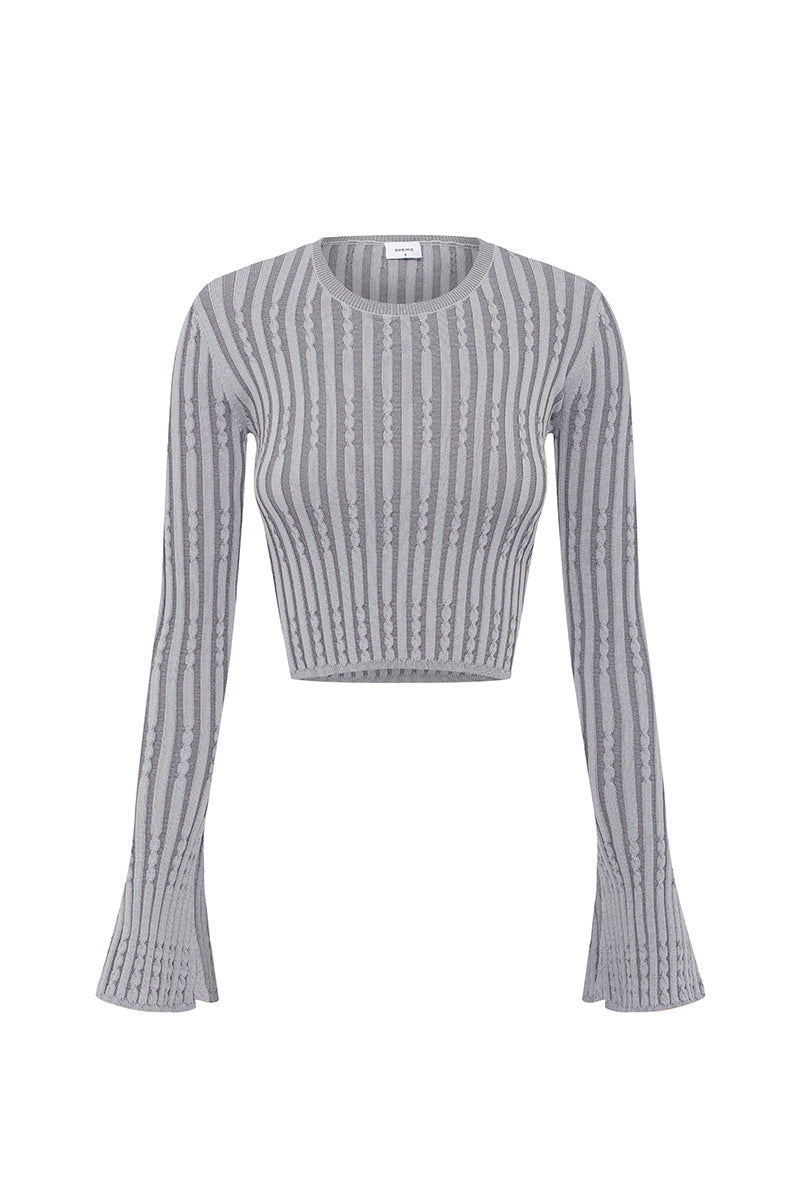 BELIEVER KNIT TOP