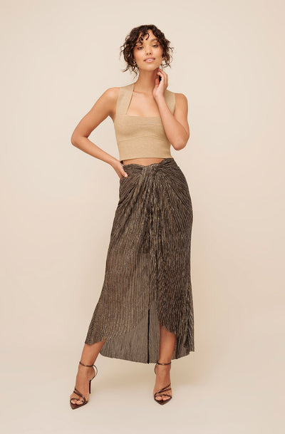 ALL THAT SPARKLES WRAP SKIRT