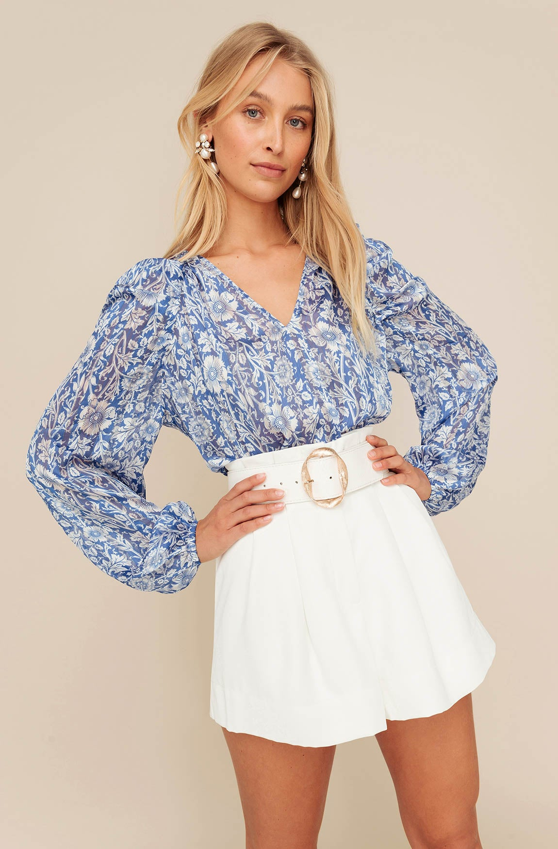 WEDGEWOOD BLOUSE