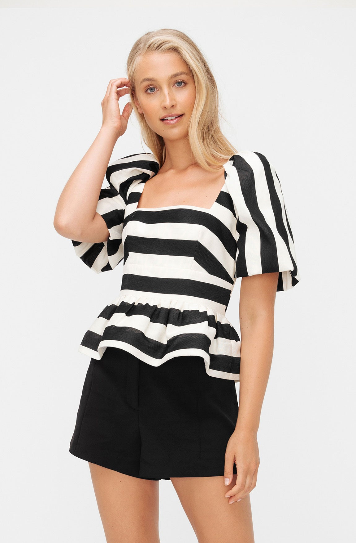 ELLIE STRIPE TOP