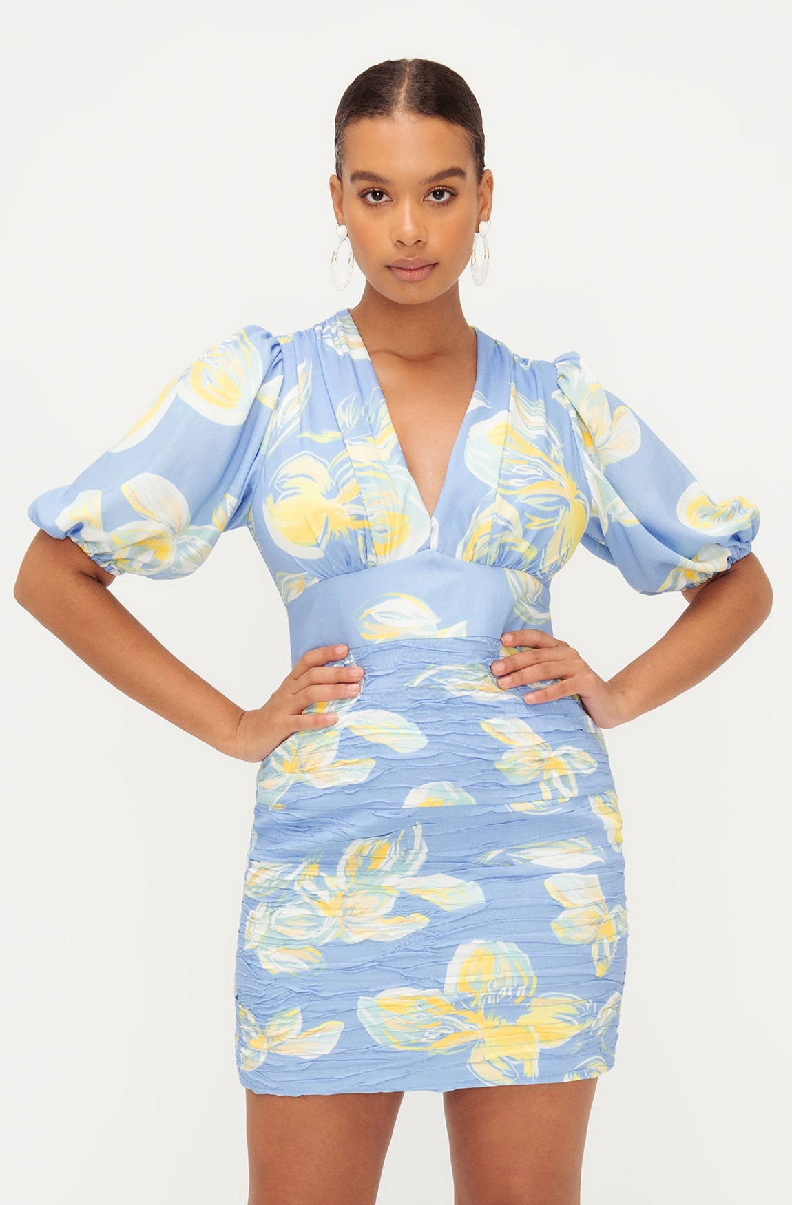SUNSET BLUES DRESS