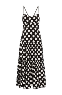 MISHA SPOT DRESS
