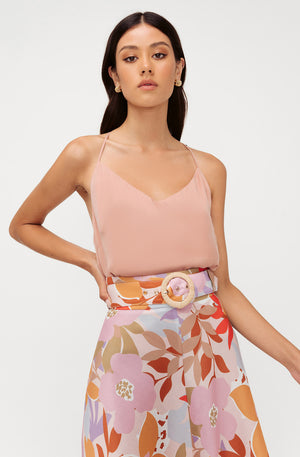 MIMOSA FLORAL SKIRT
