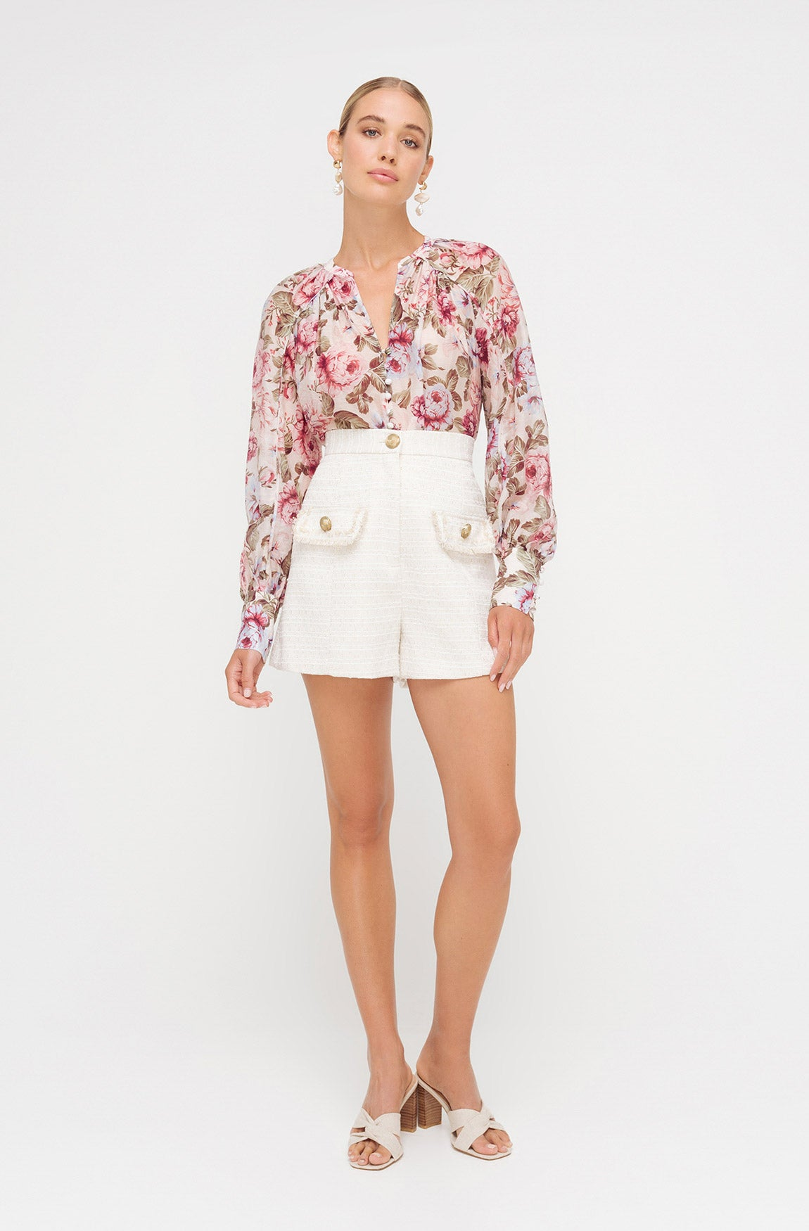 TIFFANY FLORAL BLOUSE