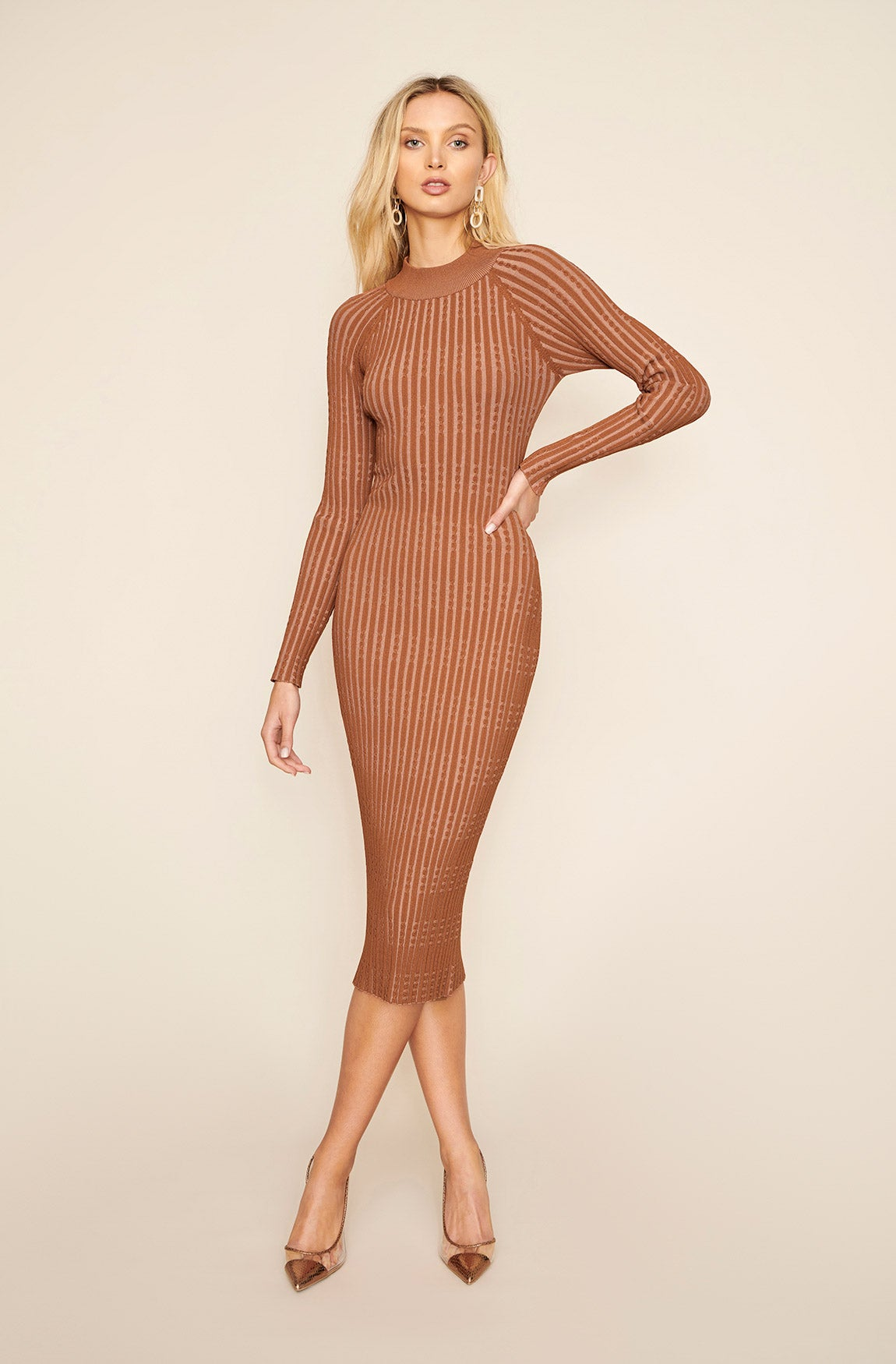 BELIEVER KNIT DRESS