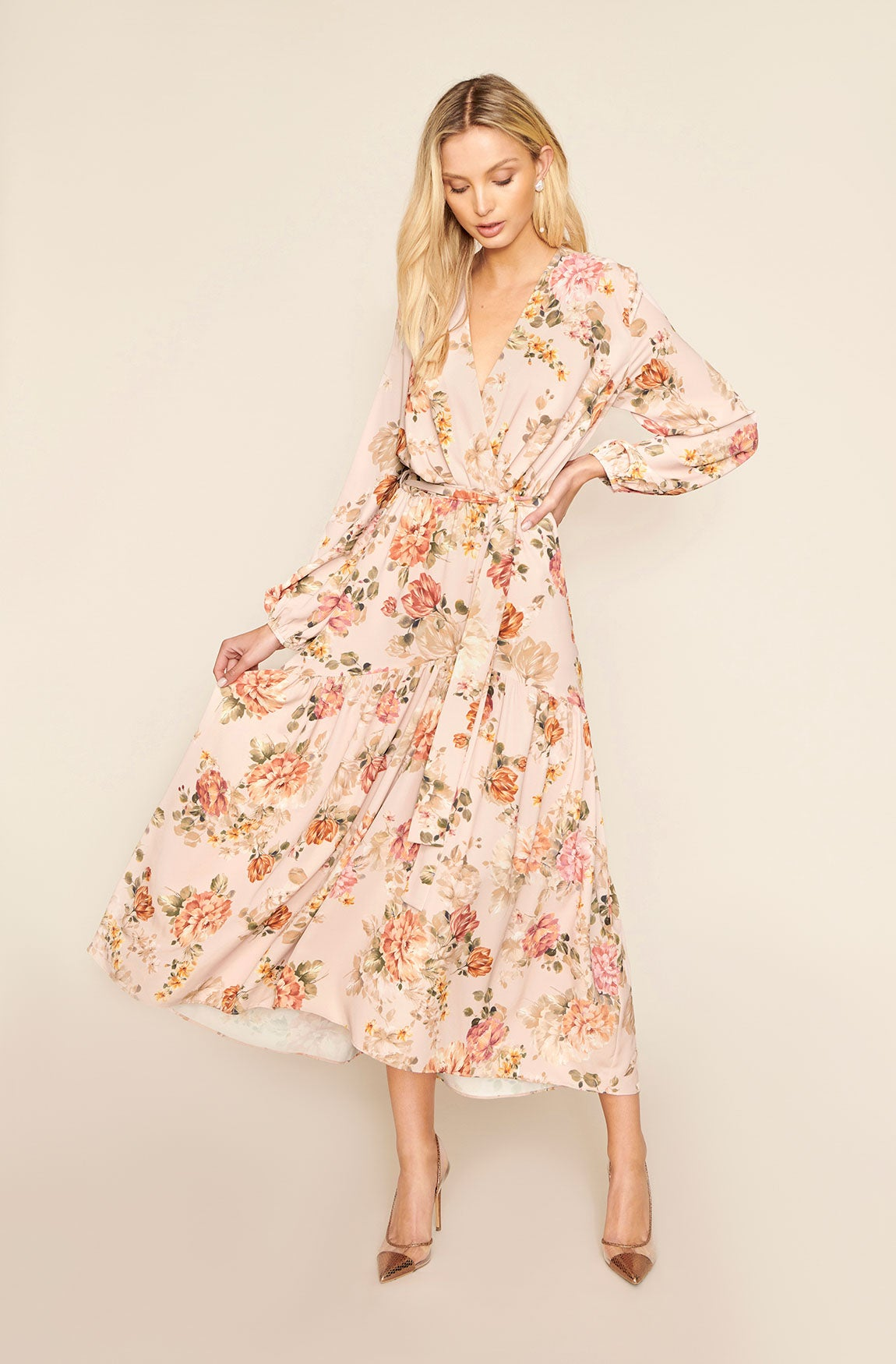 EMILY FLORAL DRESS