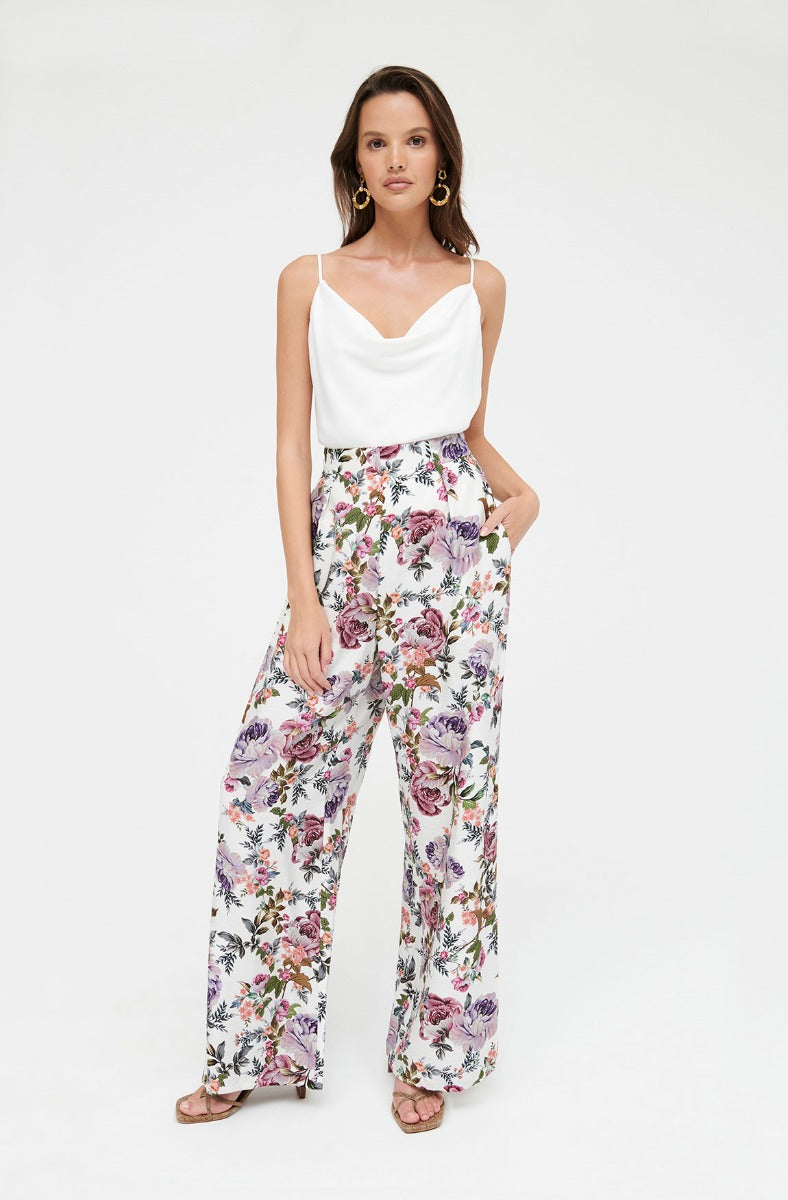 LILAC BLOOMS PANT