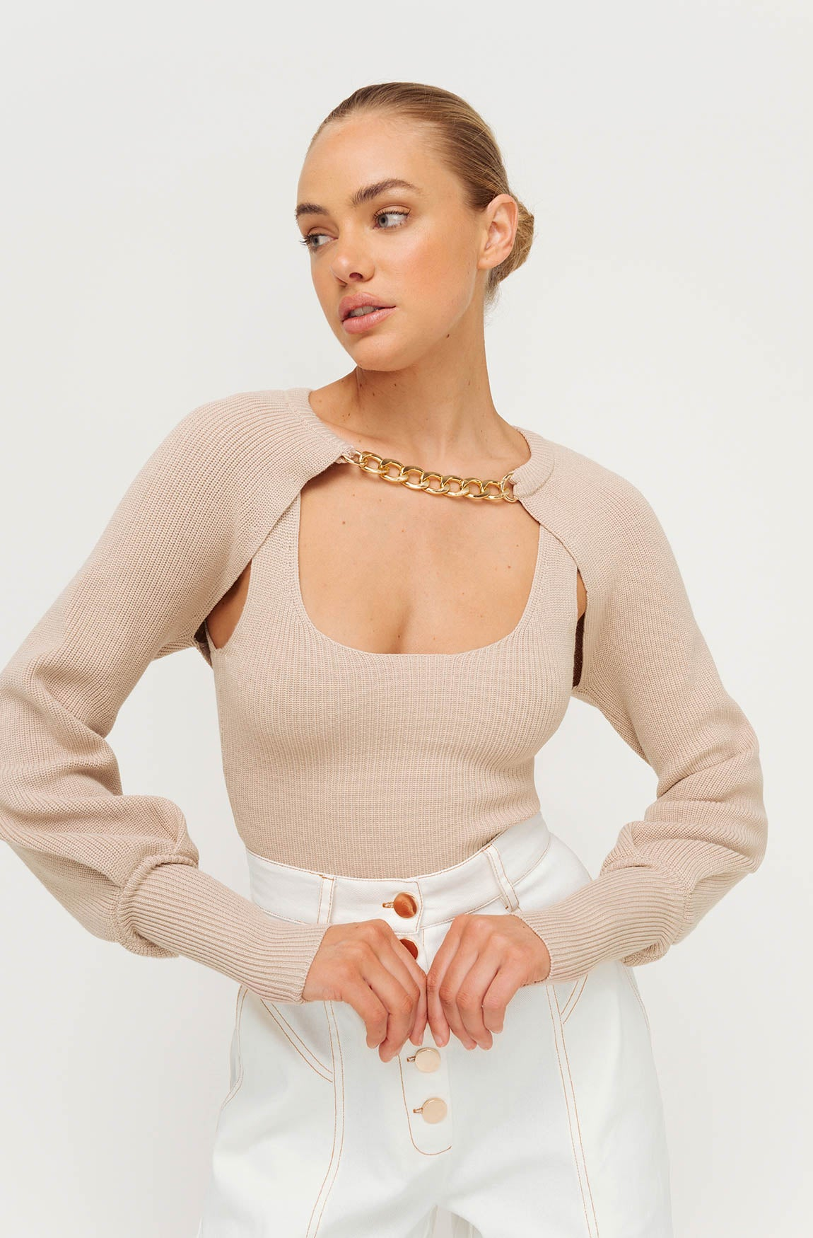 KHLOE KNIT SHRUG