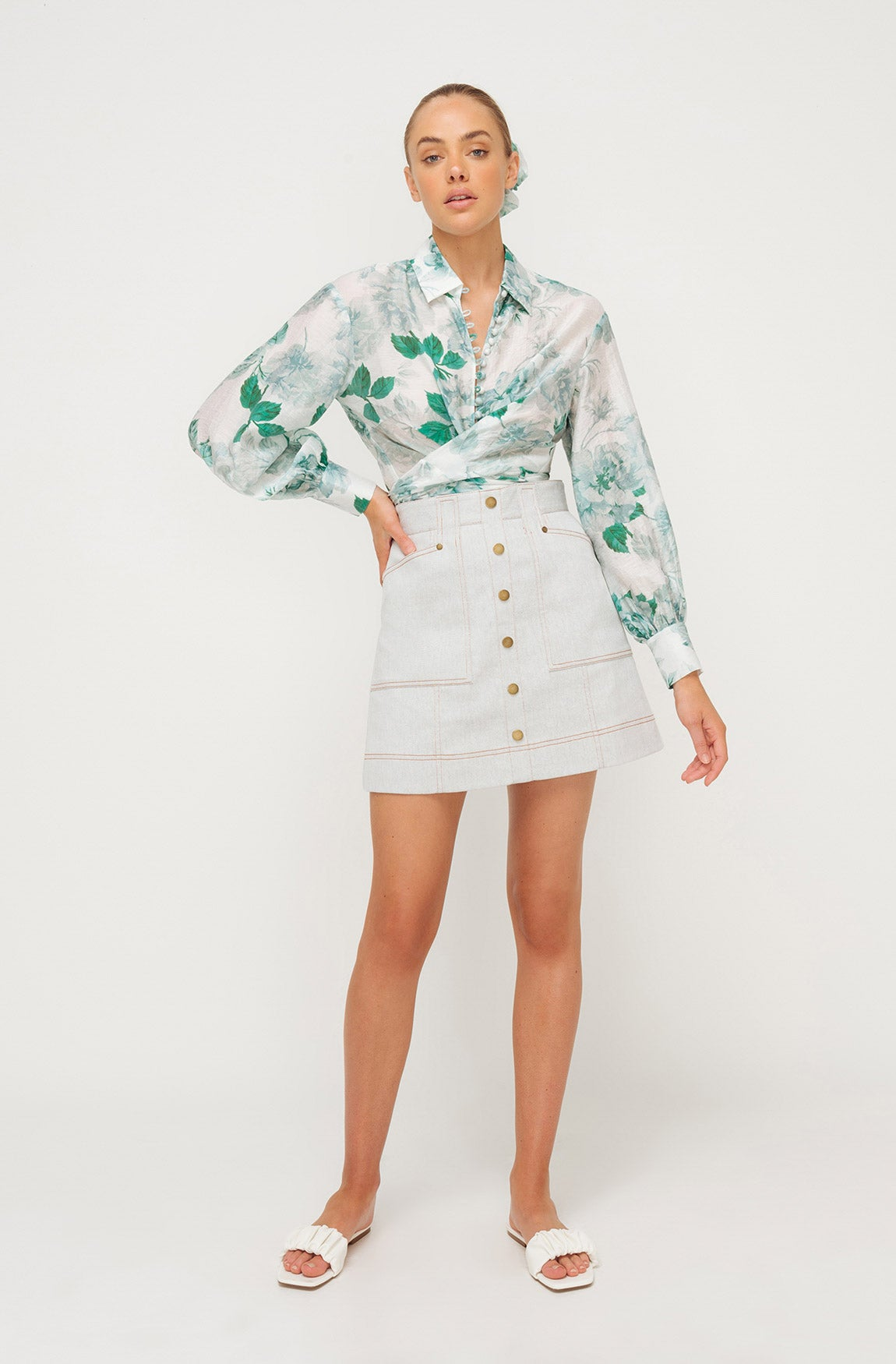 ATLANTIC FLORAL SHIRT