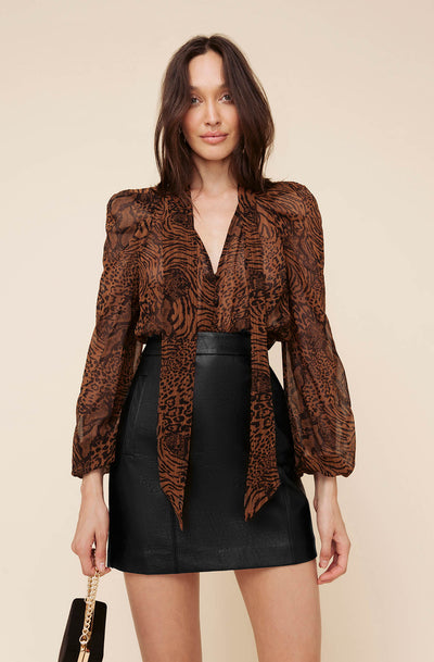 WILD THINGS BLOUSE