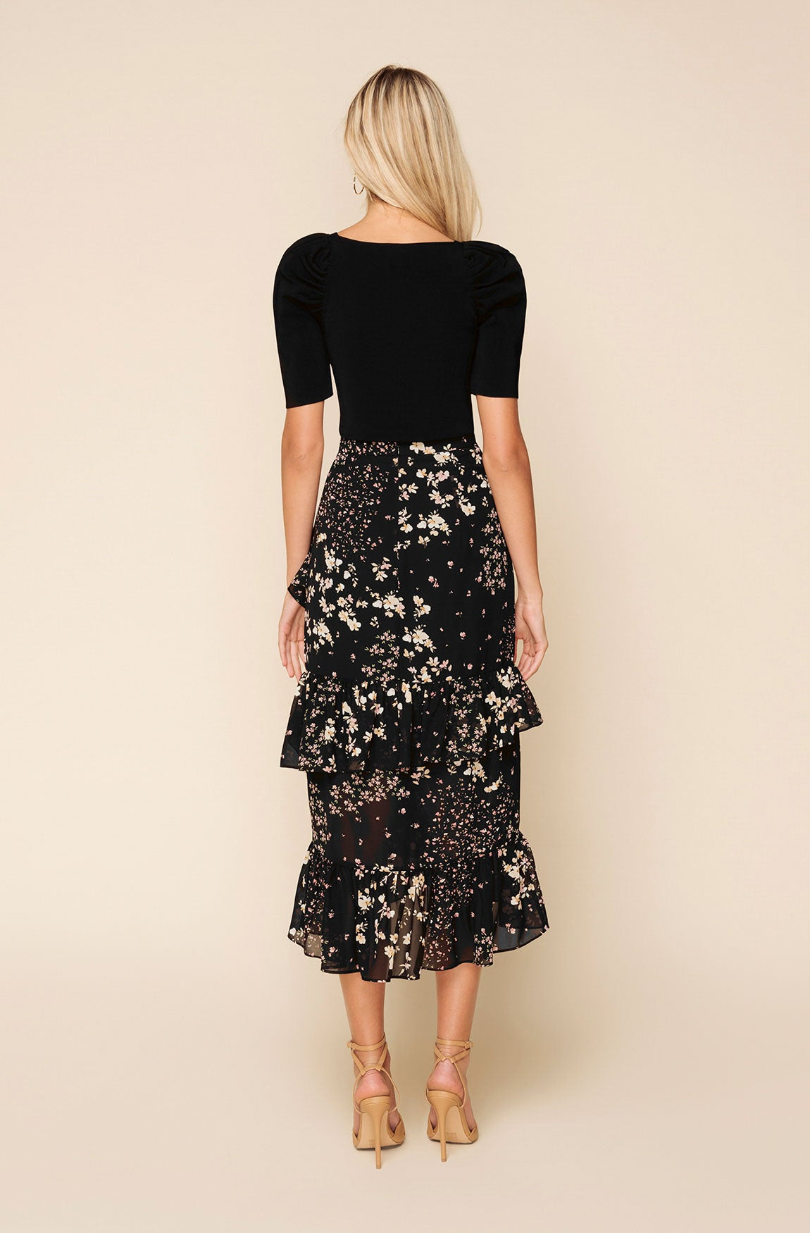 BILLY FLORAL SKIRT