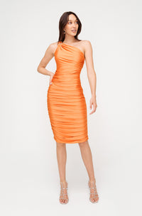 MANHATTAN JERSEY MIDI DRESS