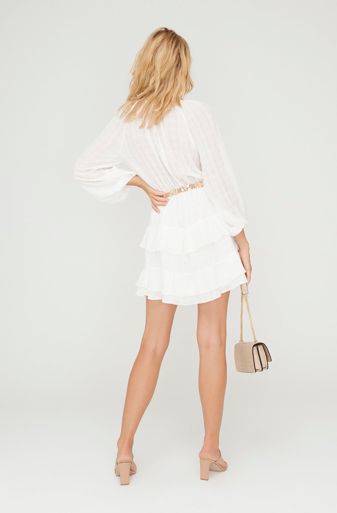 DAYDREAM WHITE MINI DRESS