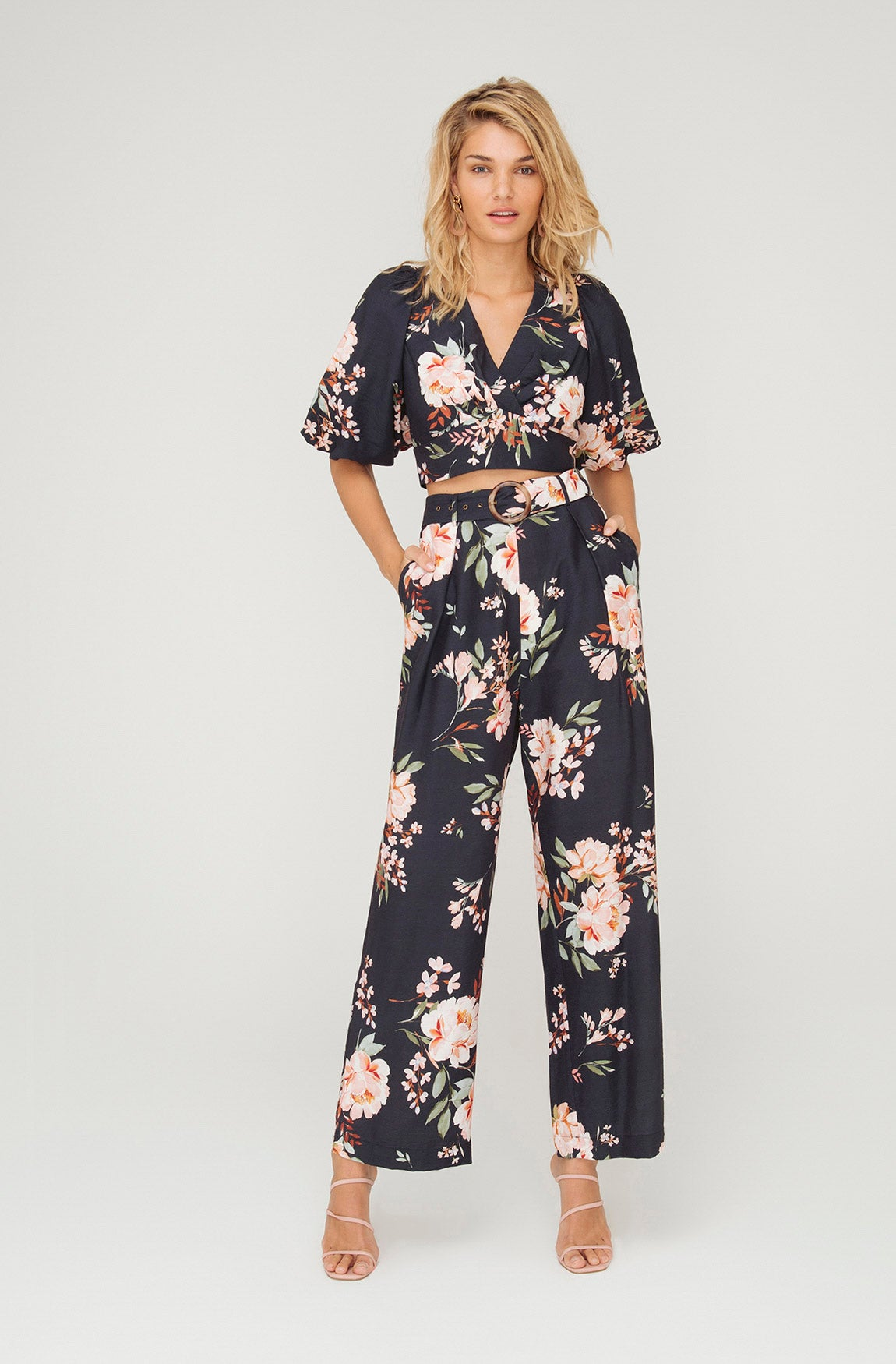ELLY FLORAL PANT