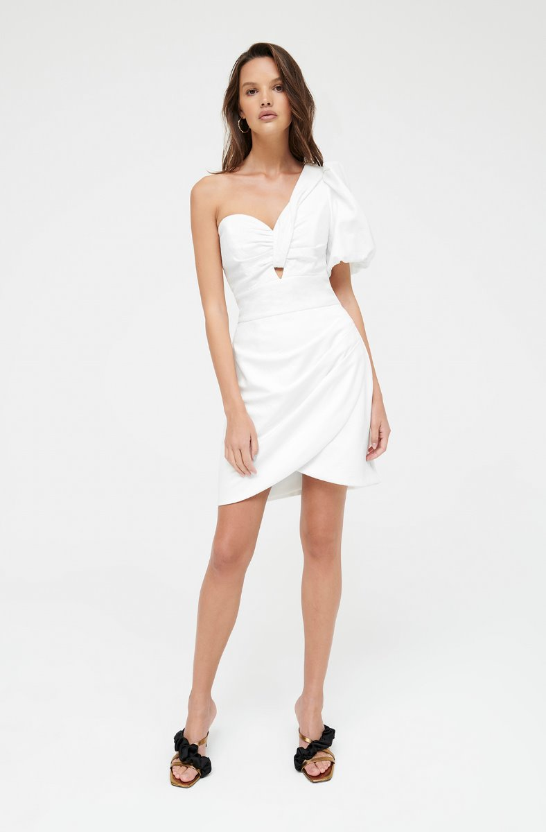 FRANKIE LITTLE WHITE DRESS