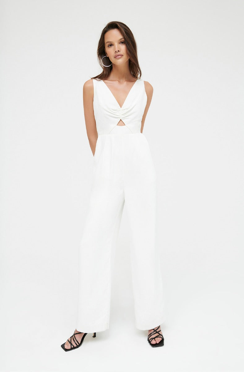 HEARTS DESIRE WHITE JUMPSUIT